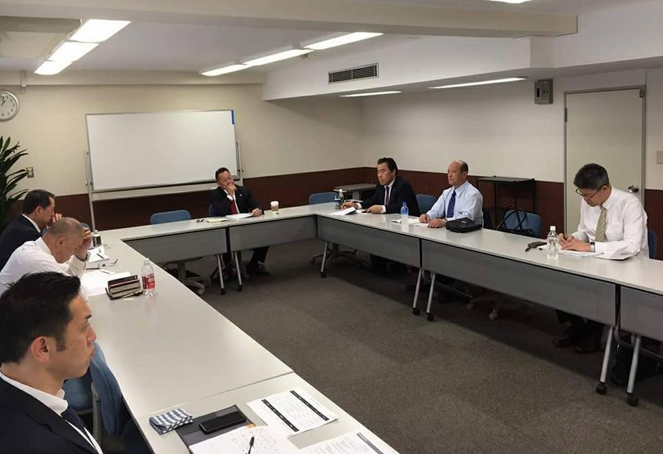新極真会の理事会出席のため東京へ。_c0186691_15275097.jpg