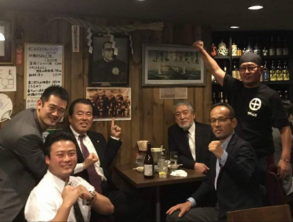 新極真会の理事会出席のため東京へ。_c0186691_1528488.jpg