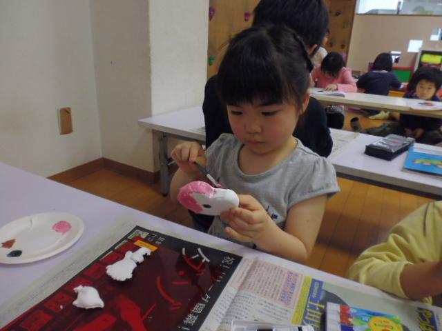 【工作教室】低学年『マグネット紙粘土』 中高学年『ジオラマ』制作_f0225094_00043862.jpg
