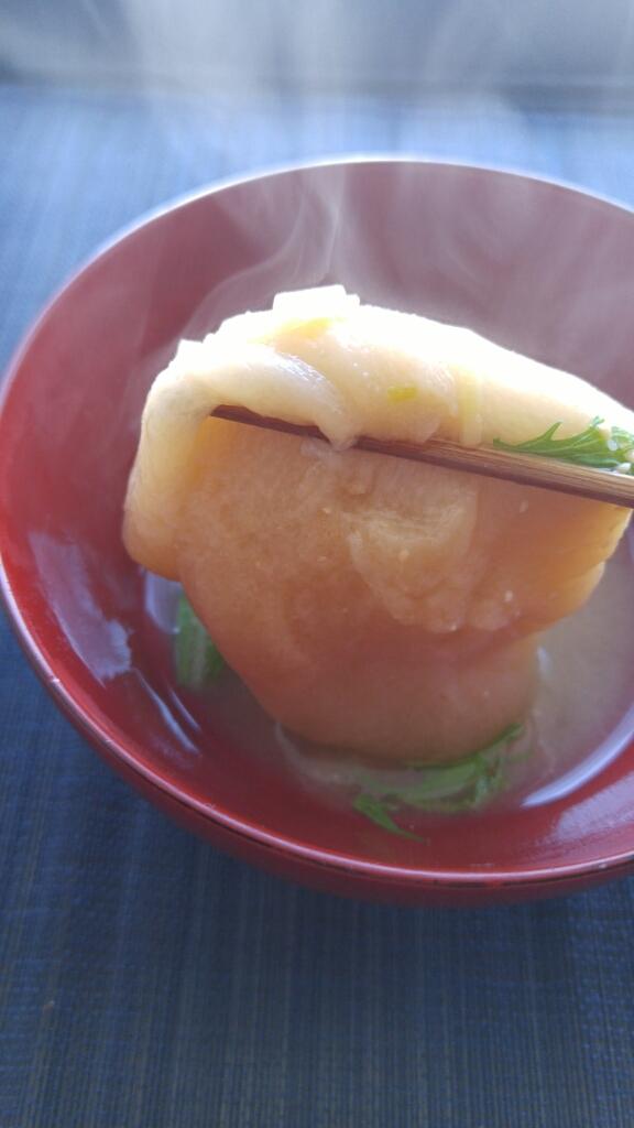 大好きな「たま麩」の味噌汁_c0124528_14330061.jpg