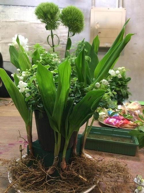 お花の教室(スズラン*アジアンタム)_f0324766_18033014.jpg