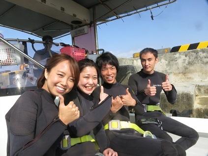 ボート体験ダイビングです。_a0156273_10580061.jpg