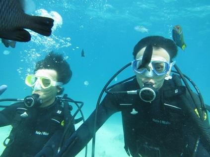 ボート体験ダイビングです。_a0156273_10580112.jpg