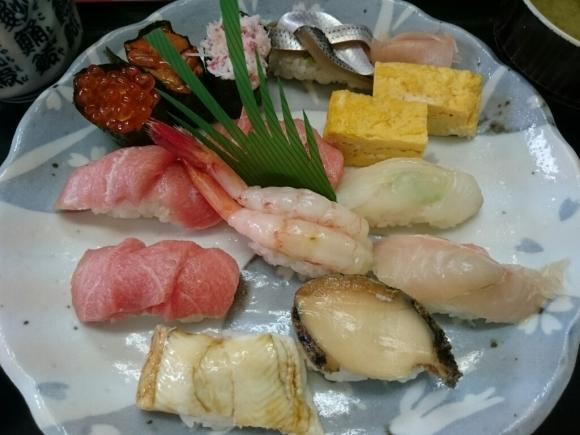 4/23夜勤明け  市場寿司たか  特にぎり¥1,800 + 小肌握り¥150 @八王子卸売センター_b0042308_12101122.jpg