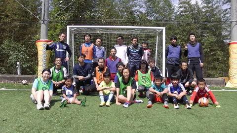 ゆるUNO 4/22(土) at UNOフットボールファーム_a0059812_18064173.jpg