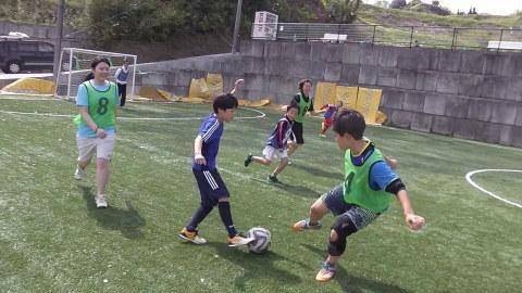 ゆるUNO 4/22(土) at UNOフットボールファーム_a0059812_18072609.jpg