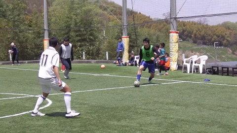 ゆるUNO 4/22(土) at UNOフットボールファーム_a0059812_18284431.jpg