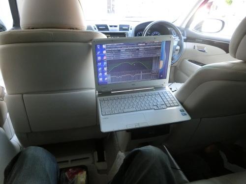 助手席セッティング&後部座席左セッティング_c0360321_22470284.jpg