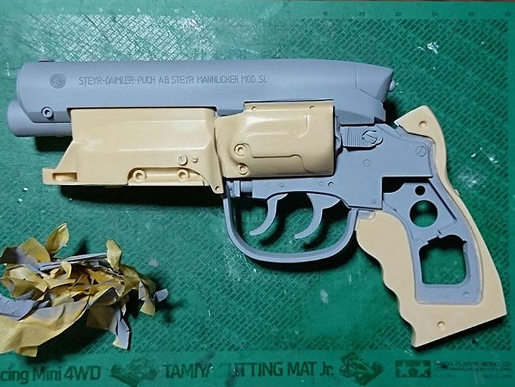 留ブラ・スタント・モデルの原型完成_a0077842_09523044.jpg