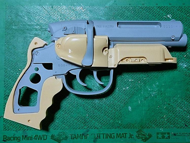 留ブラ・スタント・モデルの原型完成_a0077842_09523316.jpg
