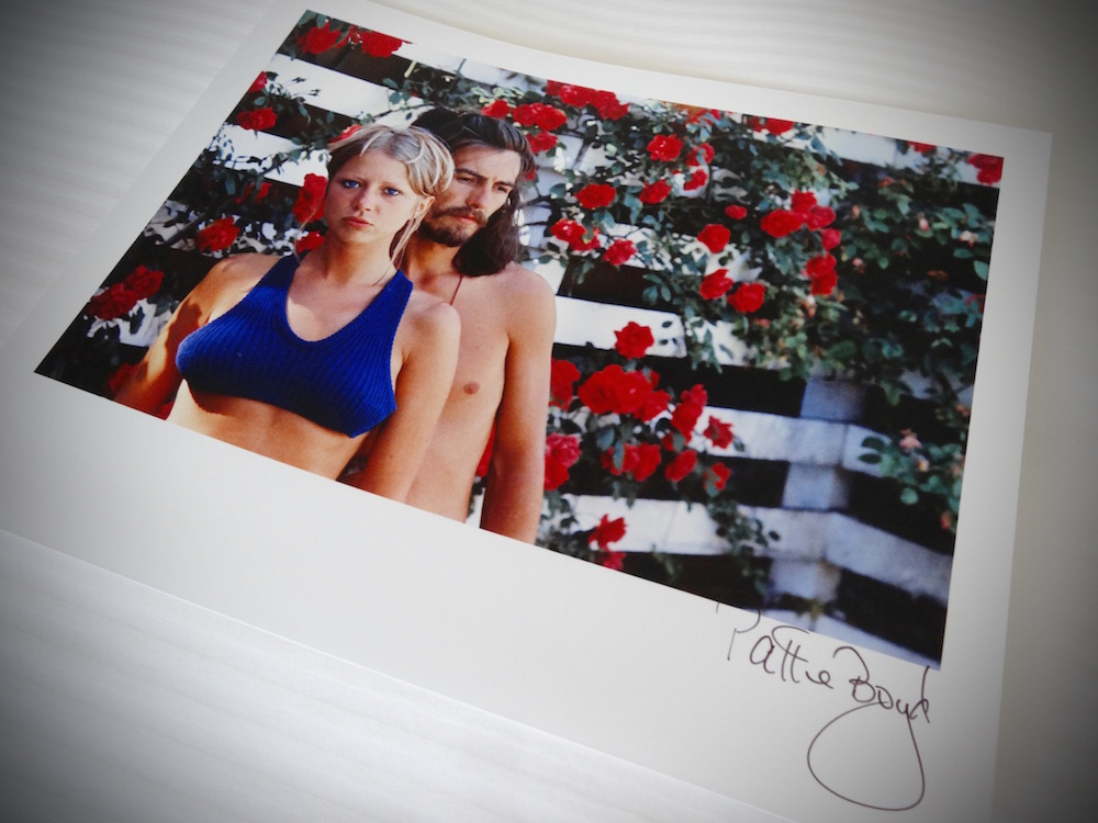Pattie Boyd写真展 『George, Eric & Me -パティが見たあの頃- 』_f0057849_1940335.jpg