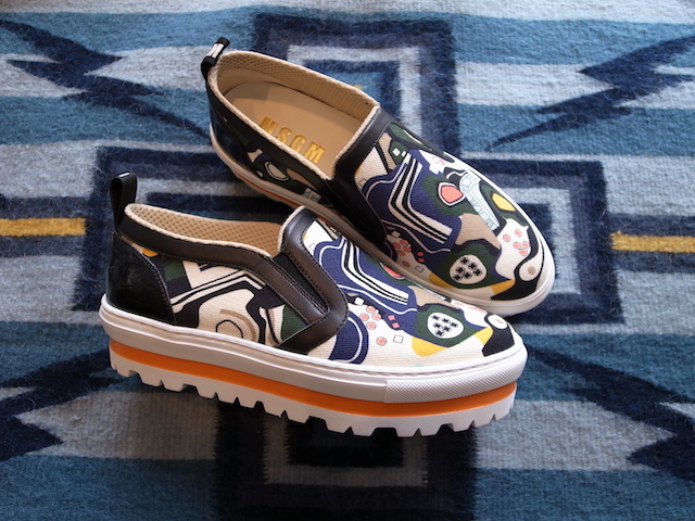 MSGM GRAPHIC SLIPON SNEAKER_f0111683_14063376.jpg