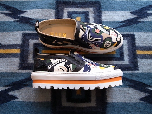 MSGM GRAPHIC SLIPON SNEAKER_f0111683_14063770.jpg