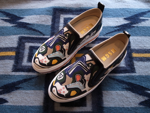 MSGM GRAPHIC SLIPON SNEAKER_f0111683_14064124.jpg