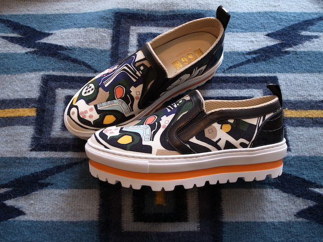 MSGM GRAPHIC SLIPON SNEAKER_f0111683_14064473.jpg