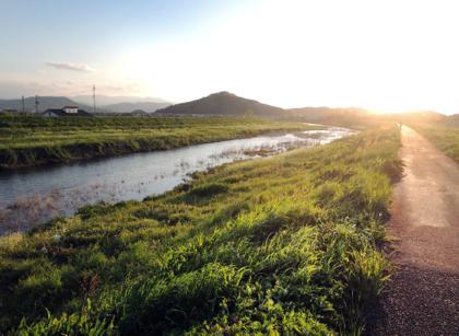 一仕事終えてからの夕方からの自転車トレーニング......日暮れ..._b0194185_21341492.jpg