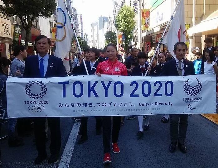 オリンピック・パラリンピックフラッグ世田谷へ。_c0092197_09465457.jpg