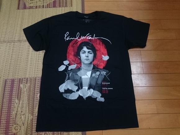 4/24 PAUL McCARTNEY ONE ON ONE JAPAN TOUR Tシャツ_b0042308_02074598.jpg