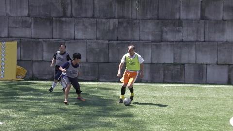 4/23(日) 第4回シニアフットサル at UNOフットボールファーム_a0059812_10430150.jpg