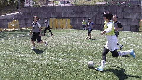 4/23(日) 第4回シニアフットサル at UNOフットボールファーム_a0059812_10442015.jpg
