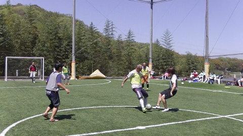 4/23(日) 第4回シニアフットサル at UNOフットボールファーム_a0059812_10445109.jpg