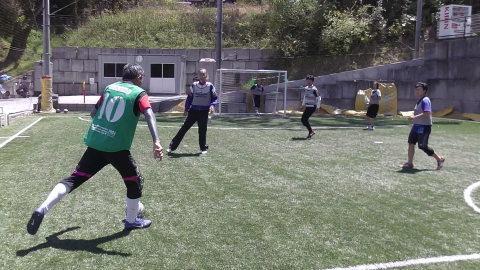 4/23(日) 第4回シニアフットサル at UNOフットボールファーム_a0059812_10460539.jpg