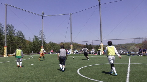 4/23(日) 第4回シニアフットサル at UNOフットボールファーム_a0059812_10461988.jpg