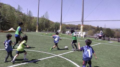 ゆるUNO 4/23(日) at UNOフットボールファーム_a0059812_16532141.jpg
