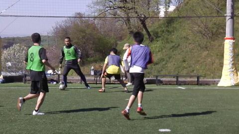 ゆるUNO 4/23(日) at UNOフットボールファーム_a0059812_16543439.jpg