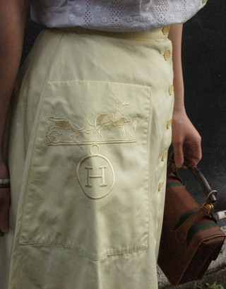 Coodinate Hermes skirt_f0144612_11221064.jpg