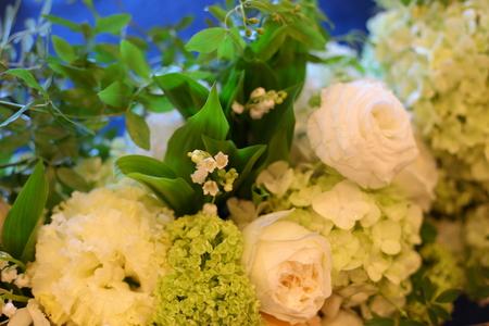 春の装花 如水会館様へ 今年初めてのスズランの卓上装花_a0042928_1285230.jpg
