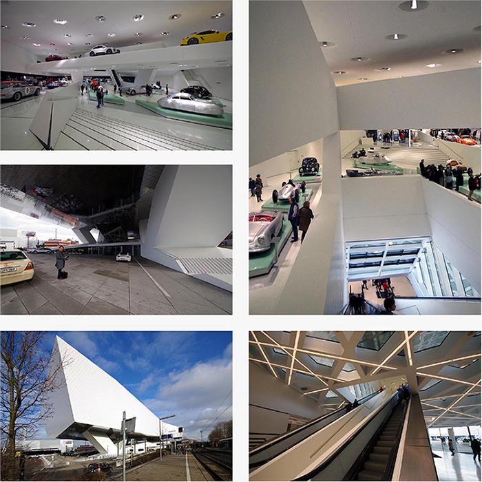 浮遊する巨大ミュージアム(ポルシェ ミュージアム)_b0114785_22575259.jpg