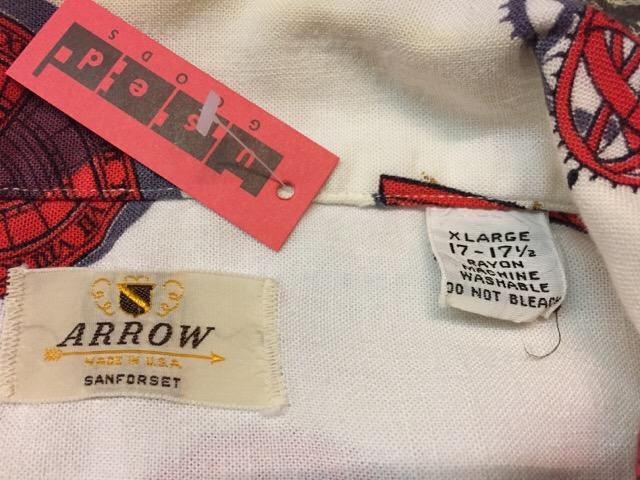 4月26日(水)大阪店ヴィンテージウェア&服飾雑貨入荷!!#9 Vintage Shirt編!!_c0078587_11362385.jpg