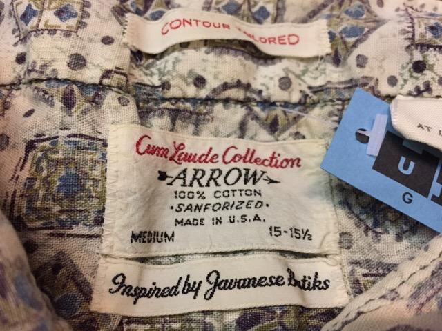 4月26日(水)大阪店ヴィンテージウェア&服飾雑貨入荷!!#9 Vintage Shirt編!!_c0078587_11491848.jpg