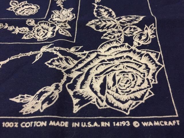 4月26日(水)大阪店ヴィンテージウェア&服飾雑貨入荷!!#11 Vintage Bandana編!!_c0078587_12211979.jpg