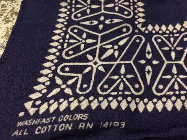 4月26日(水)大阪店ヴィンテージウェア&服飾雑貨入荷!!#11 Vintage Bandana編!!_c0078587_1221297.jpg