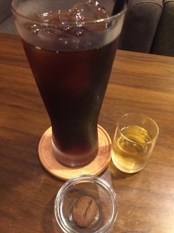喫茶 1er ぷるみえ (カレー風味の豚そぼろと五穀米ライス 冷静スパイシーサルサ)_e0115904_16095869.jpg