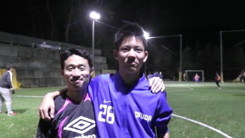UNO 4/25(火) ダブルヘッダー at UNOフットボールファーム_a0059812_23242324.jpg