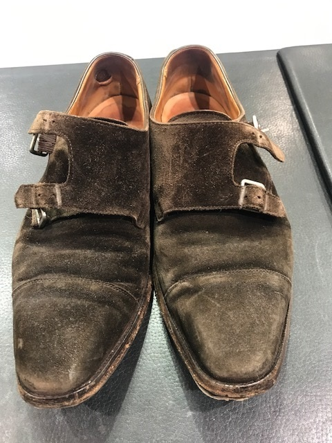 靴のクリーニング(スエード編)_b0226322_16225422.jpg