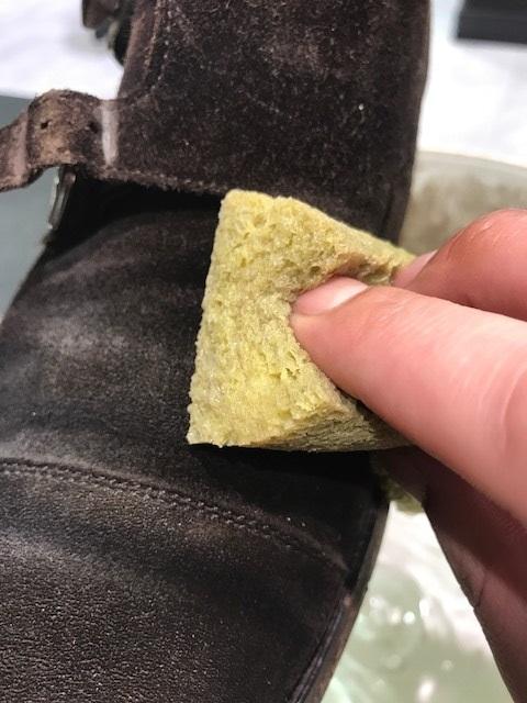 靴のクリーニング(スエード編)_b0226322_16245423.jpg