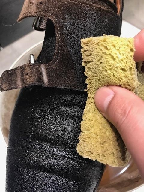 靴のクリーニング(スエード編)_b0226322_16290266.jpg