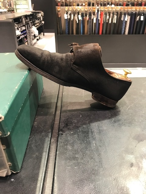 靴のクリーニング(スエード編)_b0226322_16311581.jpg