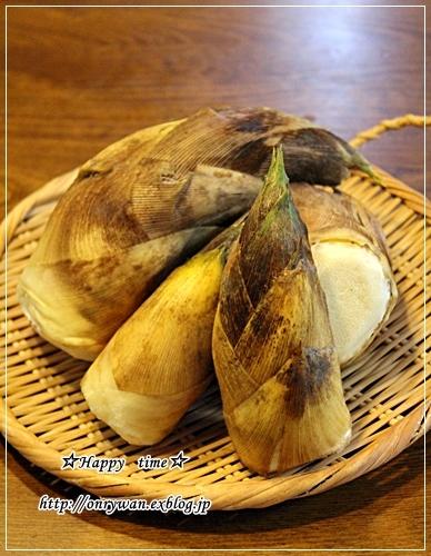 旬の筍で、たけのこご飯弁当と今夜は♪_f0348032_17550683.jpg