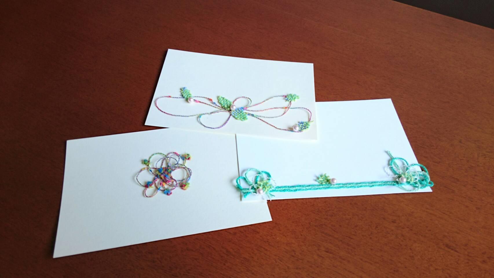 ポストカードも、春らしく。_a0316554_13391368.jpg