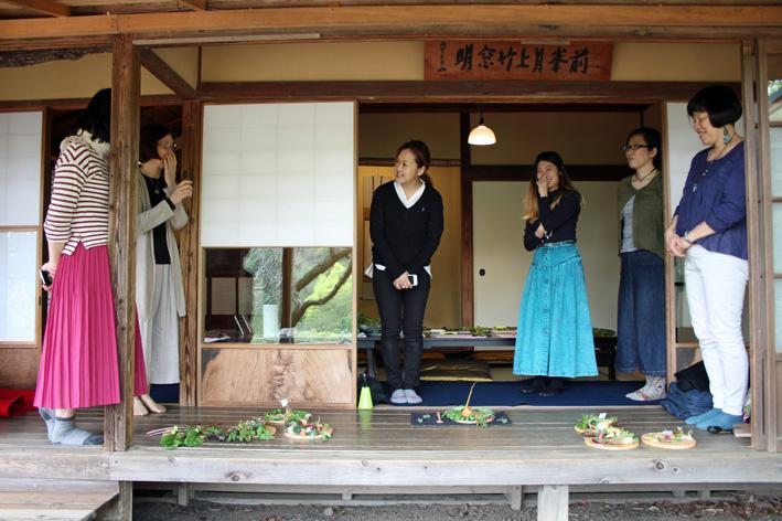 笑顔が溢れた『カマクラキコリス』ワークショップ:龍隠庵_c0014967_120541.jpg