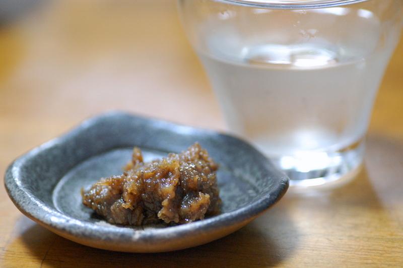 蕗味噌を肴に_c0057390_22585262.jpg