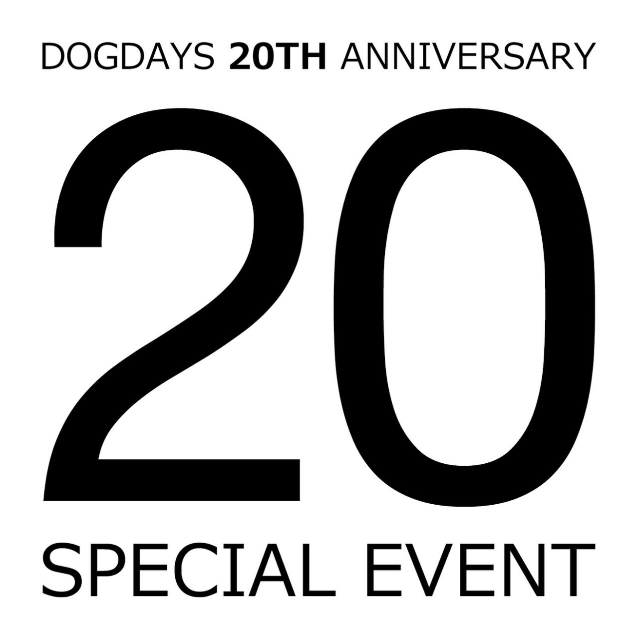 DOGDAYS 20th Anniversary Special Event._c0079892_1715176.jpg