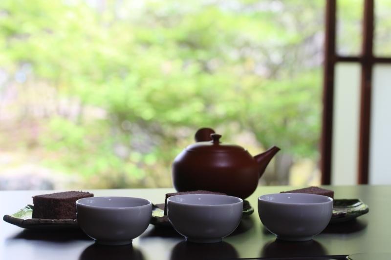 喜楽亭で楽しむ おいしい日本茶 4月_b0220318_00162264.jpg