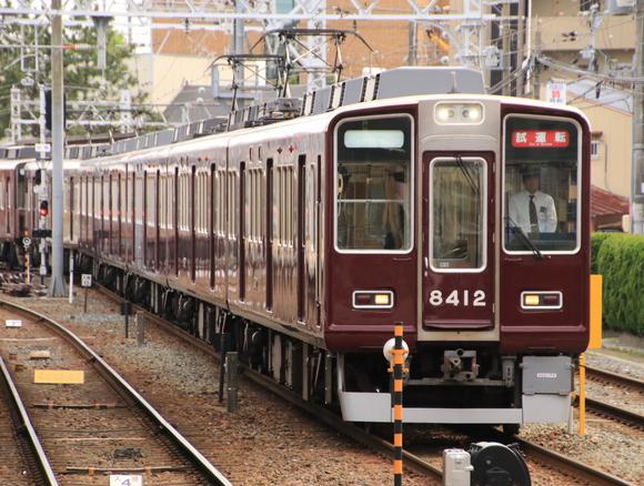 阪急8331F   試運転_d0202264_18242980.jpg