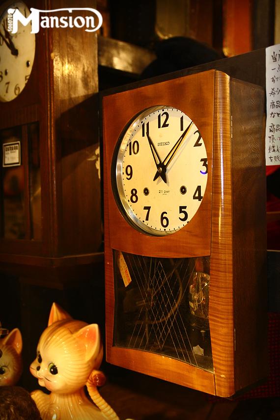 1960s Vintage SEIKO 壁掛時計 セイコー セール品_e0243096_12341707.jpg